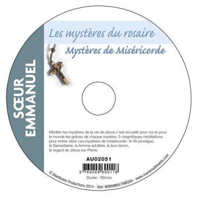 CD- Les Mystères de miséricorde