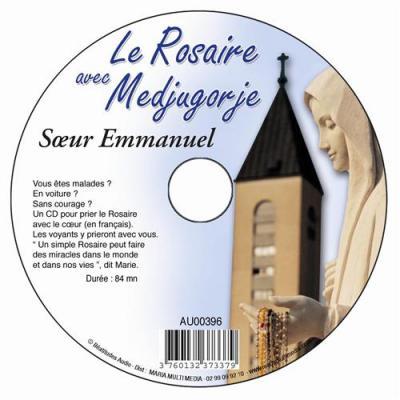 CD- Rosaire avec Medjugorje