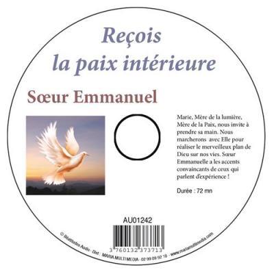 CD- Reçois la paix intérieure