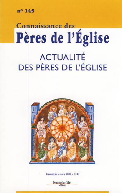 CPE 145- Actualité des Pères de l'Église