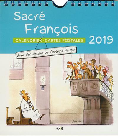 Calendrier 2019 Sacré François